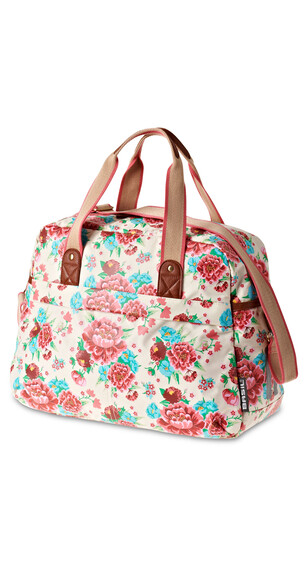 Basil Bloom-Carry All transporttas roze/wit